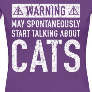 Typical Cats Gift: Here To Order - Women's Premium T-Shirt