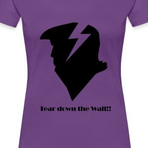 Trump Wall Lightningbolt - Frauen Premium T-Shirt