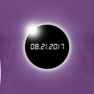 Total Solar Eclipse - Women's Premium T-Shirt