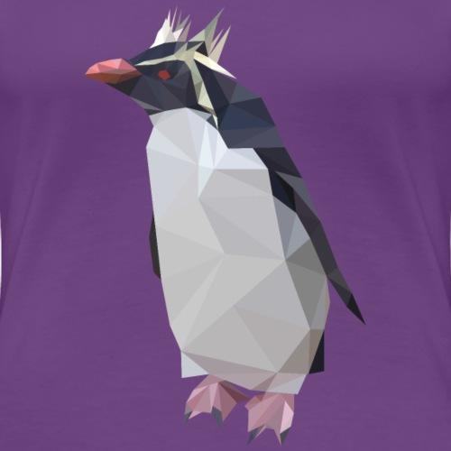Rockhopper Penguin - Women's Premium T-Shirt