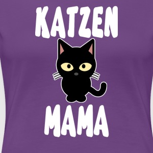 Cat mom - Women's Premium T-Shirt