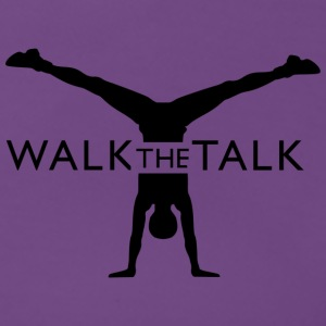 Walk the Talk Marchandise - T-shirt Premium Femme
