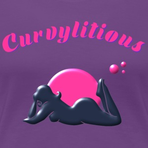 Curvylitious Bed Candy - Women's Premium T-Shirt