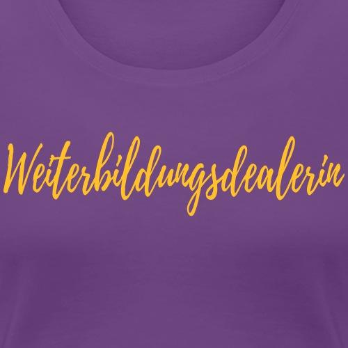 Weiterbildung - Frauen Premium T-Shirt