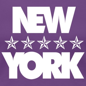 NEW YORK - Premium-T-shirt dam