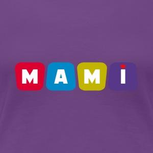 MAMI bunt - Frauen Premium T-Shirt