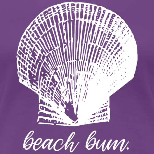 Beach Bum Shell - Mermaid - Frauen Premium T-Shirt