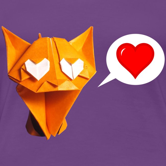 Adorable Origami Cat - Chat - Gato - Gatto - Katze