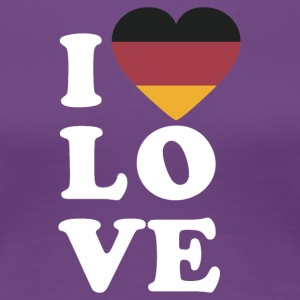 I love Germany - Women's Premium T-Shirt