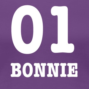 Bonnie white - Women's Premium T-Shirt