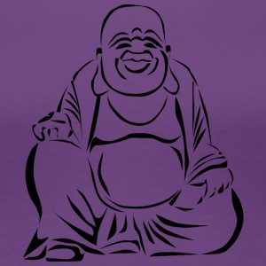 Happy Buddha - Frauen Premium T-Shirt