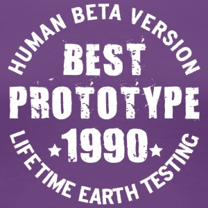 1990 - The birth year of legendary prototypes - Women's Premium T-Shirt