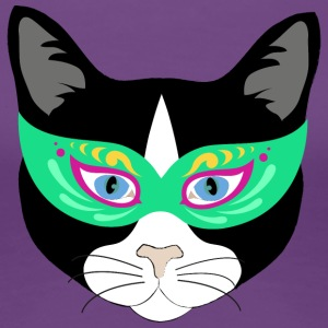 masked cat - Women's Premium T-Shirt