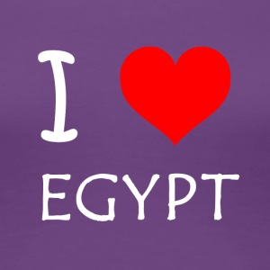 I Love Egypt - Women's Premium T-Shirt