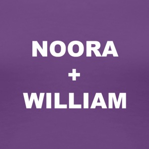 Noora och William - Premium-T-shirt dam