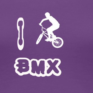 i love bmx - Frauen Premium T-Shirt