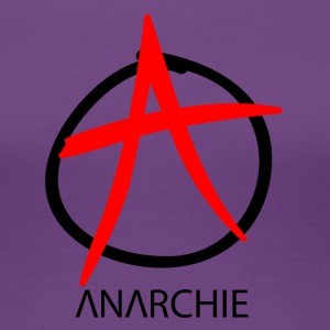 Anarchie Symbol - Frauen Premium T-Shirt