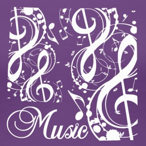 Music Notes - Music Passion - Vrouwen Premium T-shirt