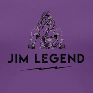 Jim Legend - Dame premium T-shirt
