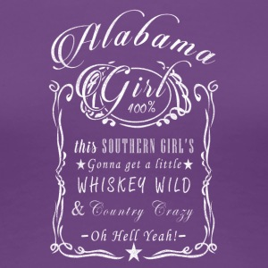 ALABAMA - Premium-T-shirt dam