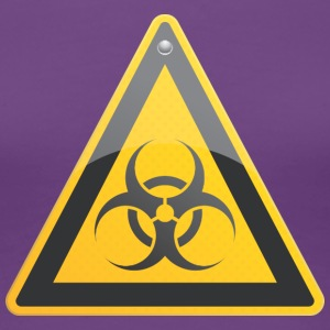 Road sign biohazard - T-shirt Premium Femme