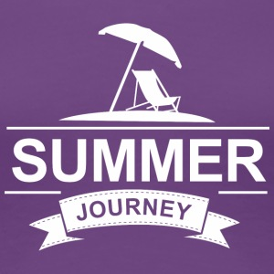 Summer Journey - Premium T-skjorte for kvinner