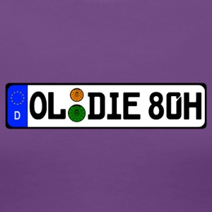 Oldie 80 historically - Women's Premium T-Shirt