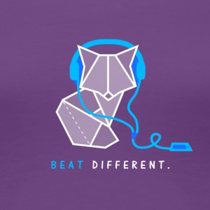 Beat different Fuchs - Frauen Premium T-Shirt
