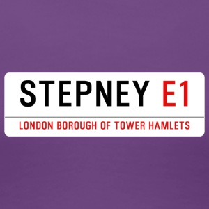 Stepney Street Sign - Women's Premium T-Shirt