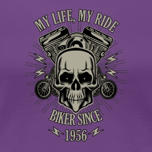 Gift for Biker - Built in 1956 - Women's Premium T-Shirt