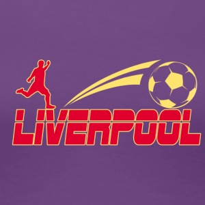Liverpool Soccer - Dame premium T-shirt