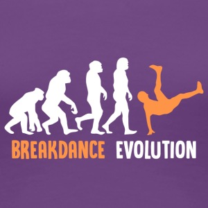 ++ ++ Breakdance Evolution - Vrouwen Premium T-shirt