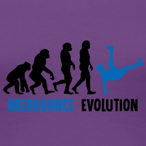 ++ ++ Breakdance Evolution - Dame premium T-shirt