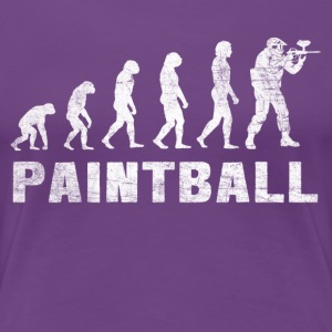 Evolution Paintball Shirt - Paintball T-Shirt - Frauen Premium T-Shirt