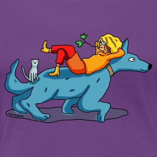 Je pars en ballade ! - T-shirt Premium Femme
