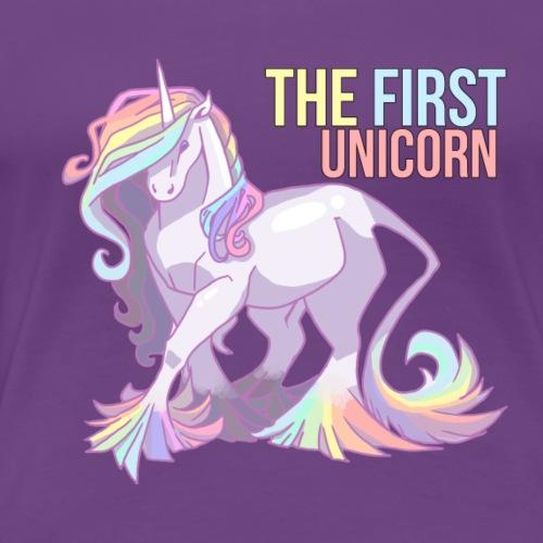 The First Unicorn - Lucy 2018 - Frauen Premium T-Shirt