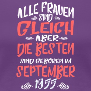 September 1955 - Frauen Premium T-Shirt