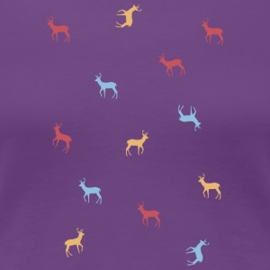 Deers colors - Women's Premium T-Shirt