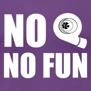 No turbo no fun - Women's Premium T-Shirt