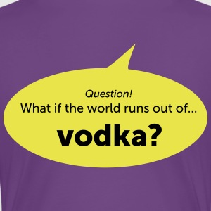 vodka - Dame premium T-shirt