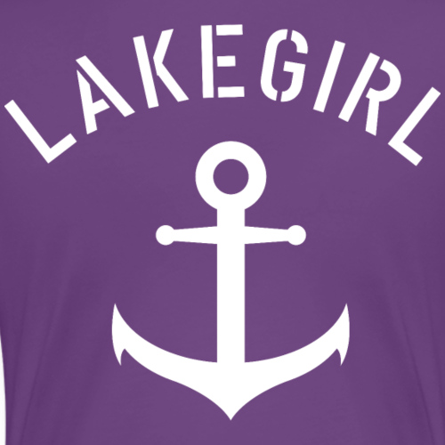 LakeGirl Anchor - Frauen Premium T-Shirt