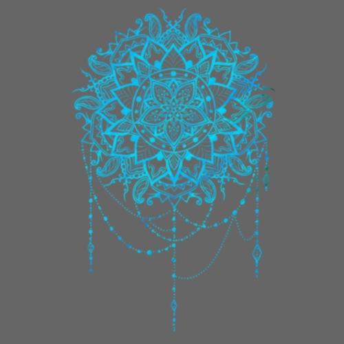 Blue mandala - Dame premium T-shirt