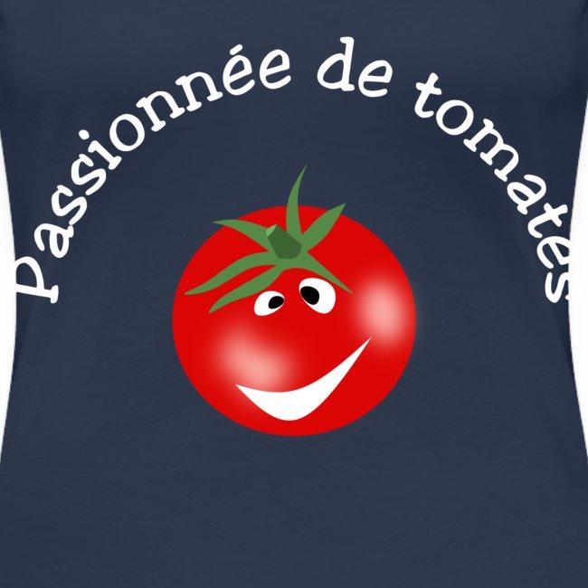 Passionnée de tomates