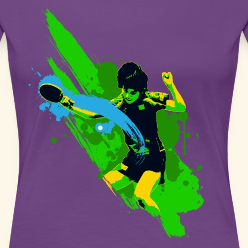 Ping-Pong Fun - Frauen Premium T-Shirt