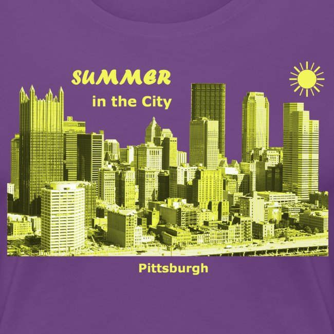 Summer Pittsburgh Pennsylvania USA