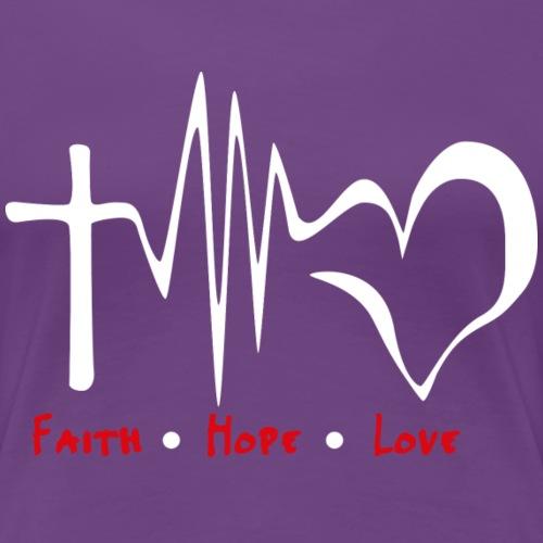 FAITH - Maglietta Premium da donna