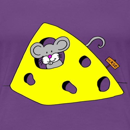 Liebevolles Maus Motiv von Janisha Sommer - Frauen Premium T-Shirt