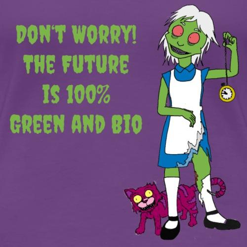 Future Green and Bio - Women's Premium T-Shirt