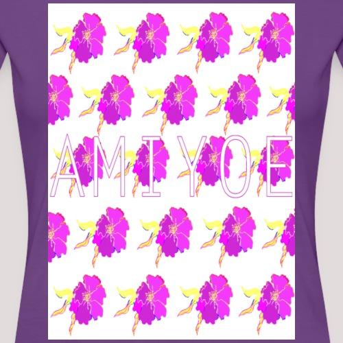 flower woman´style - Camiseta premium mujer