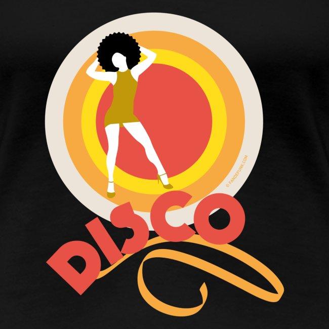 13 disco orange jaune